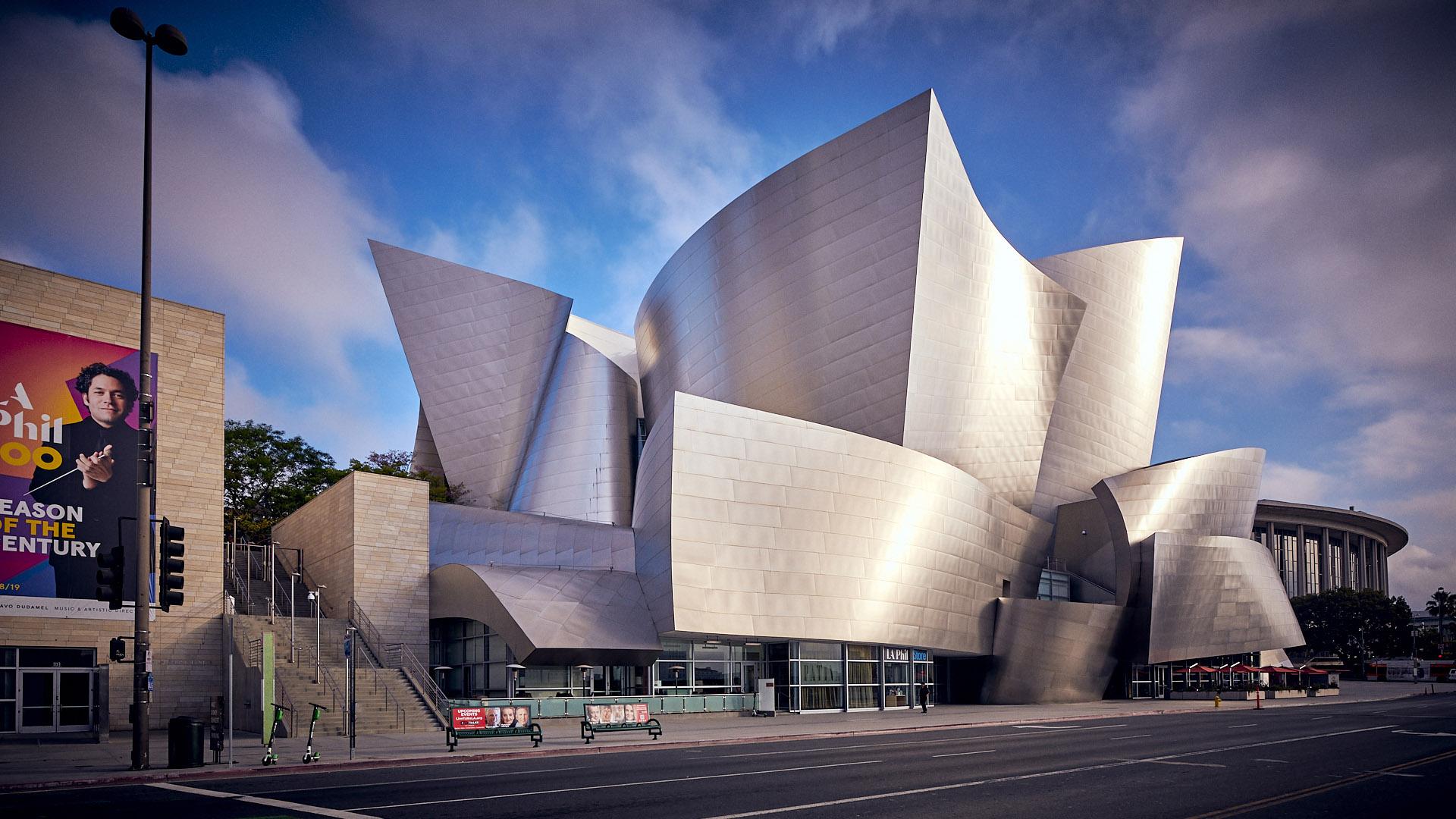 Walt Disney Concert Hall L. A.